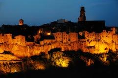 Pitigliano, Toscanië, Italië Stock Foto