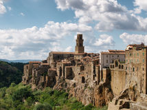 Pitigliano town Stock Photography
