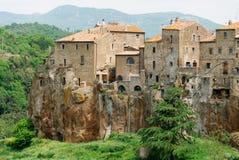 Pitigliano in Tuscany Royalty Free Stock Photography