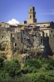 Pitigliano, Tuscany. Color image Royalty Free Stock Image