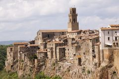 Pitigliano, Tuscany, Italy. Stock Photo