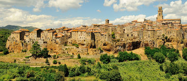 Pitigliano, Tuscany, Italy Royalty Free Stock Photography