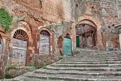 Pitigliano, Tuscany, Italy Stock Photography