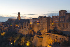 Pitigliano, Tuscany, Italy Royalty Free Stock Images