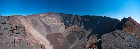 Piton de la Fournaise volcano Stock Photography