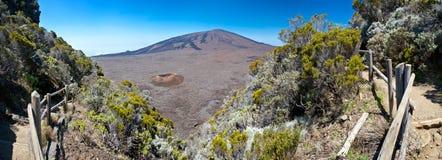 Piton de la Fournaise volcano Stock Image