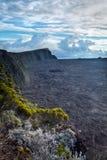 Piton de la Fournaise volcano Royalty Free Stock Photography