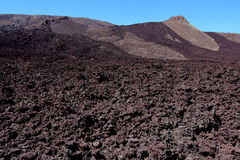 Piton de la Fournaise volcano Royalty Free Stock Images