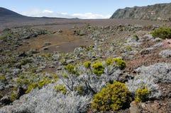Piton de la Fournaise volcano on La Reunion island Royalty Free Stock Photography