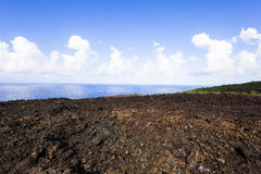Piton de la Fournaise volcano, Reunion island, France Stock Image
