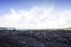 Piton de la Fournaise volcano, Reunion island, France Stock Photos