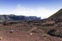 Piton de la Fournaise volcano, Reunion island, France Royalty Free Stock Photography