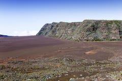 Piton de la Fournaise volcano, Reunion island, France Stock Photo