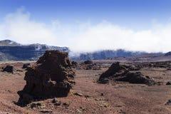 Piton de la Fournaise volcano, Reunion island, France Stock Photography