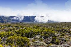 Piton de la Fournaise volcano, Reunion island, France Stock Images