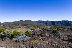 Piton de la Fournaise volcano, Reunion island, France. Piton de la Fournaise volcano, Reunion island, indian ocean, France Royalty Free Stock Images