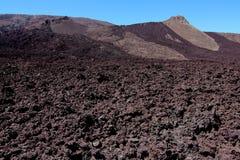 Piton DE La Fournaise vulkaan Royalty-vrije Stock Afbeeldingen