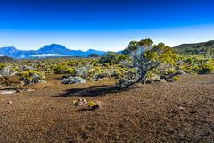 Piton des Neiges, Reunion Island. Piton des Neiges at Reunion Island Royalty Free Stock Image