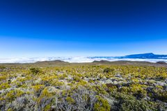 Piton des Neiges, Reunion Island. Piton des Neiges at Reunion Island Royalty Free Stock Photos