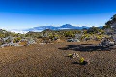 Piton des Neiges, Reunion Island. Piton des Neiges at Reunion Island Royalty Free Stock Photo