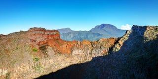 Piton des Neiges volcano Stock Images