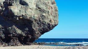 Pitoresco Playa de Los Muertos spain imagens de stock royalty free