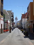 Pitoresque street at tenerife island. A pitoresque street at tenerife canary island Royalty Free Stock Image