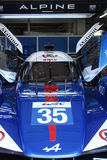 Pits for the Alpine prototype Stock Image