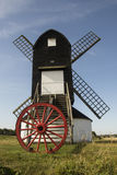 Pitstone风车,在Ivinghoe附近,白金汉郡 图库摄影