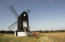 Pitstone Windmill, near Ivinghoe, Buckinghamshire stock images