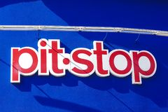 Pitstop Logo stock images