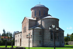 Pitsunda, Abkhazia, Patriarchal Cathedral Stock Images