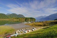 Pitt Lake Royalty Free Stock Image