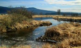 Pitt Lake valley British Columbia Stock Images