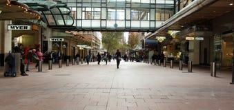 Pitt Straßen-Mall lizenzfreies stockfoto