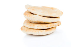 Pitta bread (Lebanese Bread) Royalty Free Stock Photo