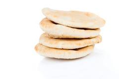Pitta bread (Lebanese Bread) Royalty Free Stock Photo