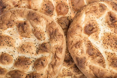 Pitta breads for ramadan Royalty Free Stock Photography