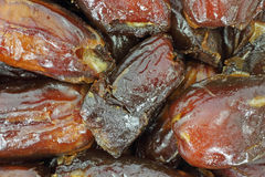 Pitted dates Stock Image