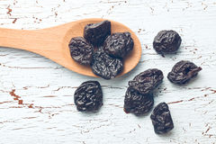 Pitted prunes Stock Photography