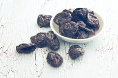 Pitted prunes Stock Images