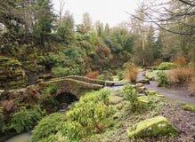 Pittencrieff Park i Dunfermline Royaltyfri Fotografi
