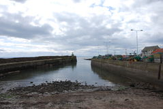 Pittenweem Harbour Wall Stock Photography