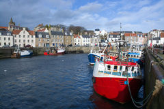Pittenweem, Scotland, UK Stock Photography