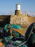 Pittenweemhaven Fife stock afbeeldingen