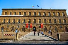 Pitti宫殿, Palazzo Pitti,在佛罗伦萨 免版税库存照片