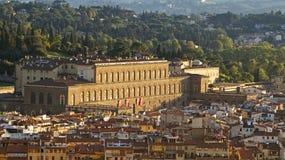 Pitti宫殿 免版税库存照片