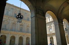 Pitti Palace and the Boboli Gardens in Florence Tuscany Royalty Free Stock Photography
