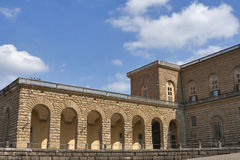 Pitti palace in Florence Royalty Free Stock Image