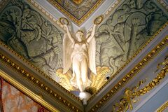 Free Pitti Palace Interior Trompe L'oeil Angel, Florence Stock Photos - 181971473